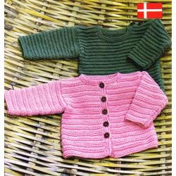 Soft Cotton Babycardigan og bluse - sælges kun sammen med garn
