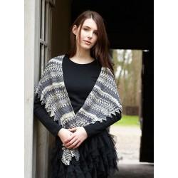 Frost sjal - sælges kun sammen med garn
