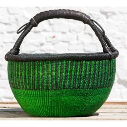 Strikkekurv Ø40 cm grøn