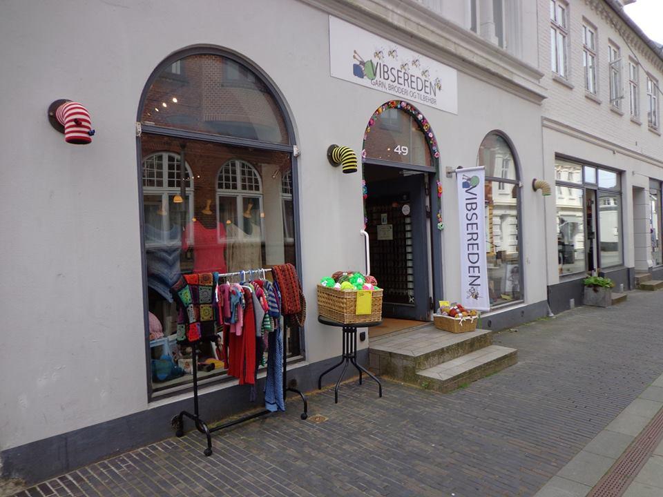 Billede af butikken i Odder