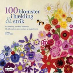 100 blomster i hækling & strik