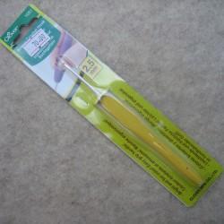 Clover hæklenål 14 cm. Easy grip