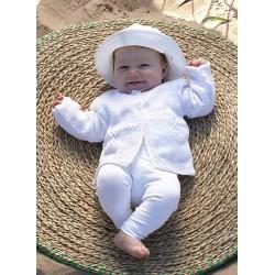Cecila Babycardigan - sælges kun sammen med garn