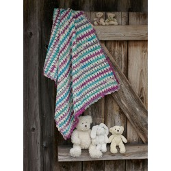 Frost hæklet babytæppe - sælges kun sammen med garn