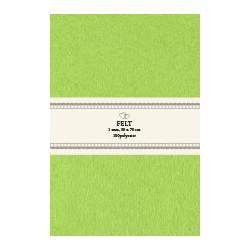 Filt 50 x 70 cm x 1 mm Grøn