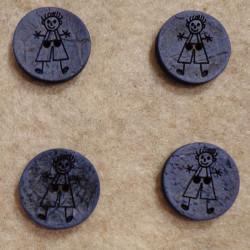 Knap vj18371150003 Str. 15 mm.